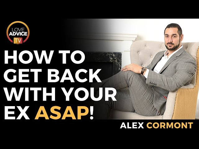 The #1 Advice To Get Back With Your Ex ASAP!
