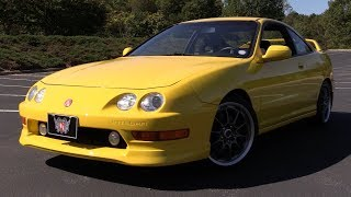 2000 Acura Integra Type R: Start Up, Test Drive & In Depth Review