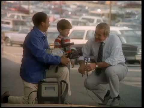 1986 KDKA promo with Simons family