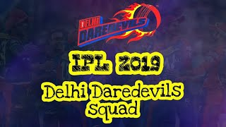 ipl 2019 dd players list