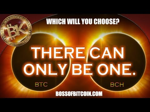 BTC vs BCC Chart Analysis☑ Bitcoin Price 9900 USD NOV 30 2017