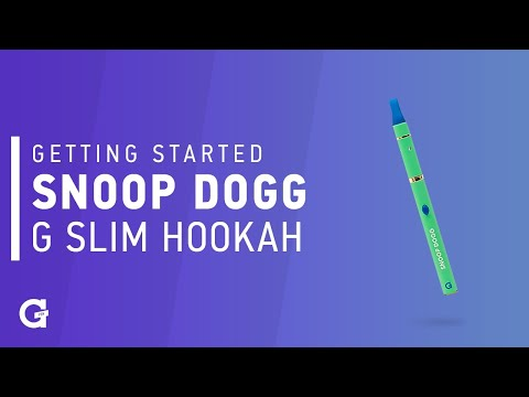 Getting started with your Snoop Dogg G Slim Hookah