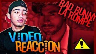 Enrique Iglesias - EL BAÑO ft. Bad Bunny Reaccion. *Dos Temas En Menos De 24 horas*