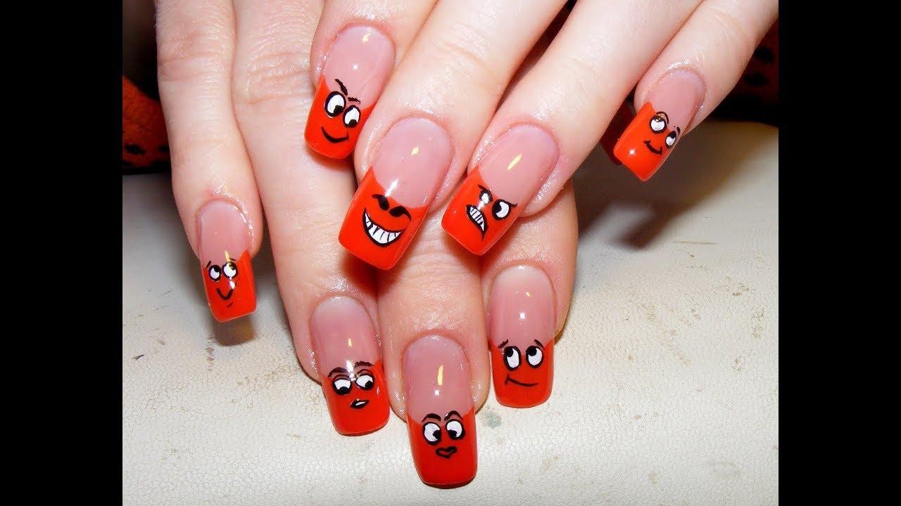 Прикольные ногти гель лаком фото