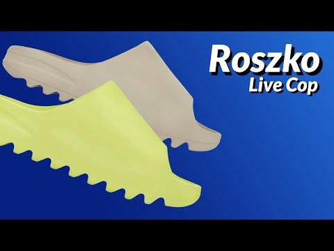 LIVE COP: Yeezy Slide Glow Green, Soot & Pure