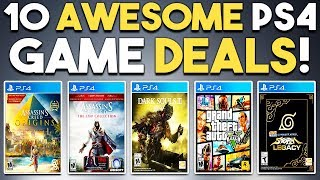 10 Awesome PS4 Game Deals NOW! (3 PSN PlayStation 4 Sales)