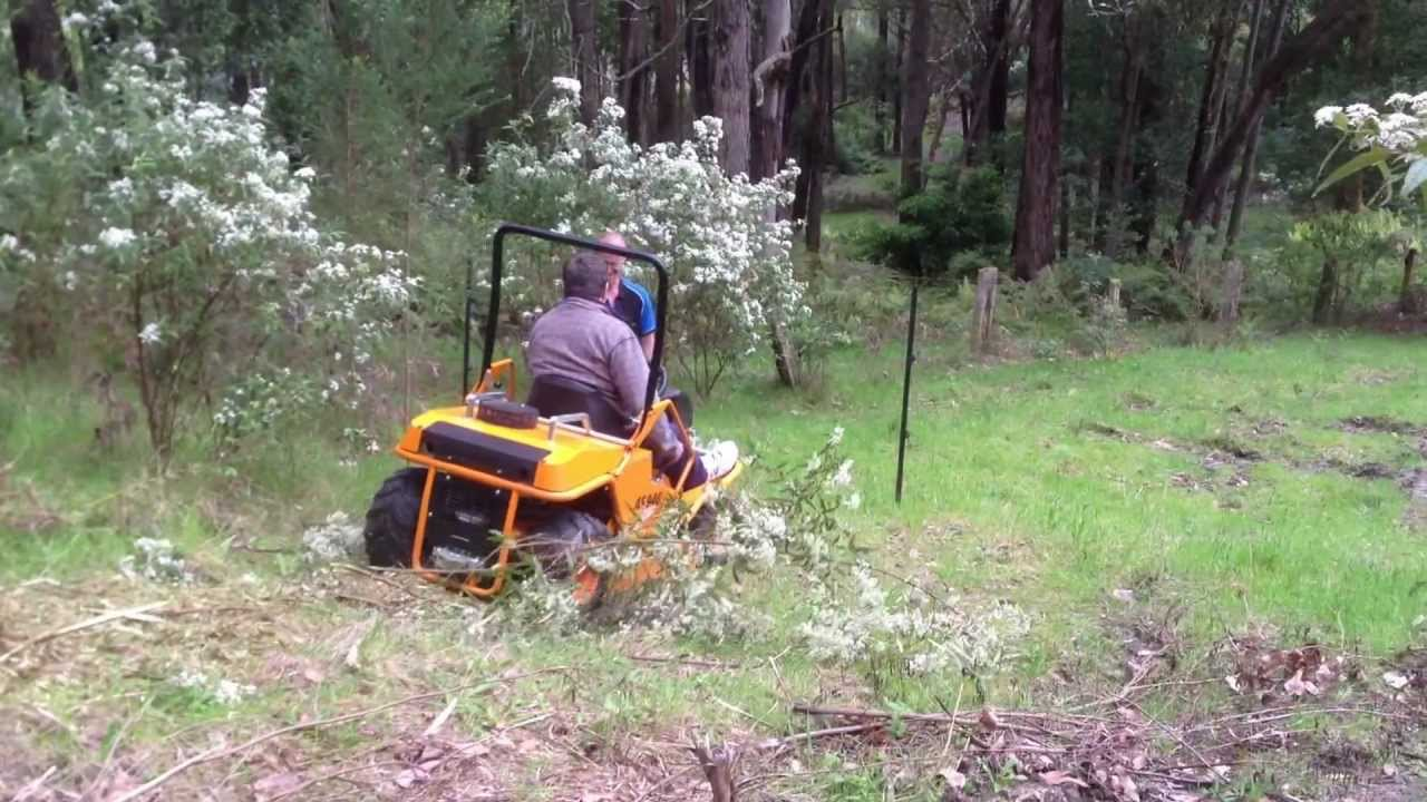 As 940 Sherpa All Terrain Ride On Lawn Mower Mowing Tough