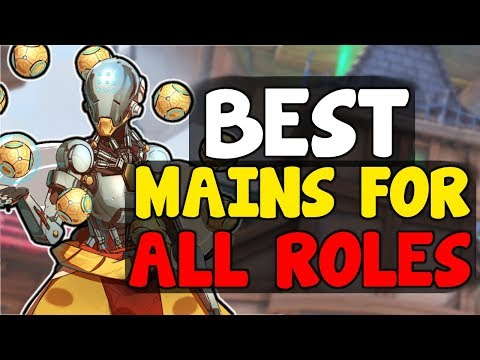 BEST MAIN HEROES FOR ALL ROLES | Overwatch Competitive Season 10 Guide Tips Changes Update Meta