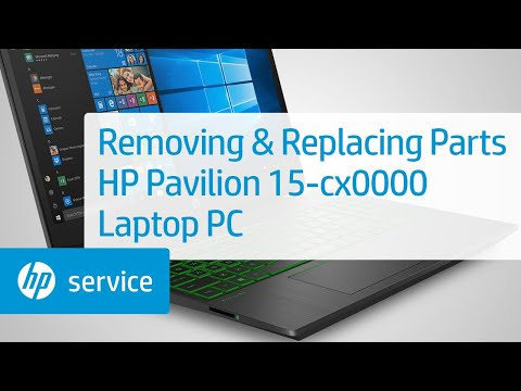 HP Pavilion 15-cx0000 Laptop PC Teardown | HP Computers | HP