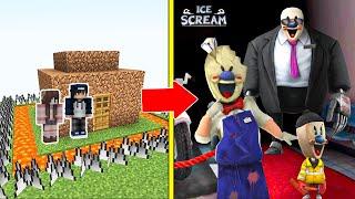 Ice Scream 4 Tấn Công Nhà Được Bảo Vệ Bởi bqThanh và Ốc Trong Minecraft