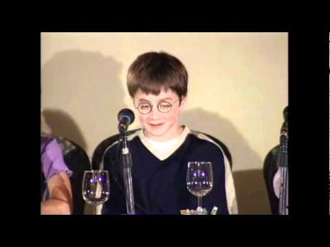 Growing up with Harry Potter Press conference 2000