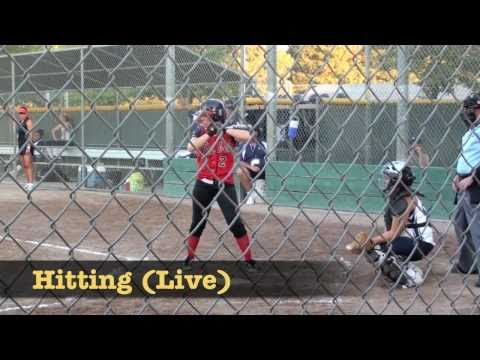 Carly Bresee Softball Video