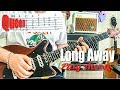 Queen - Long Away - Guitar Play Along (Guitar Tab)