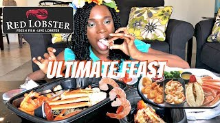 FIRST SEAFOOD MUKBANG: Red Lobster Ultimate Feast YUM!