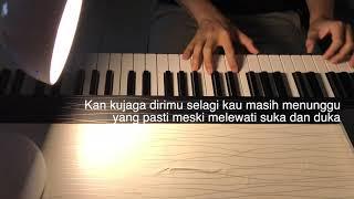 Hilmira - Dhika Fawaz | Piano Only | Male Key