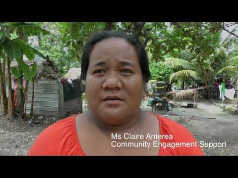 NZ Labour MP Visits Kiribati to learn Climate Change