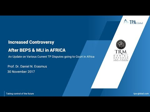 Increased controversy in Africa after BEPS – An analysis of recent TP disputes