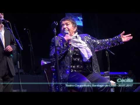 Cecilia - Dilo Calladito ( Mix-Cam - Teatro Caupolicán, Santiago de Chile - 30.07.2017 )