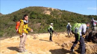 2016 2 5 由烈士陵園經長山,雷打石山去鯽魚湖