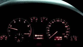 Audi A6 1998 год профилактика форсунок