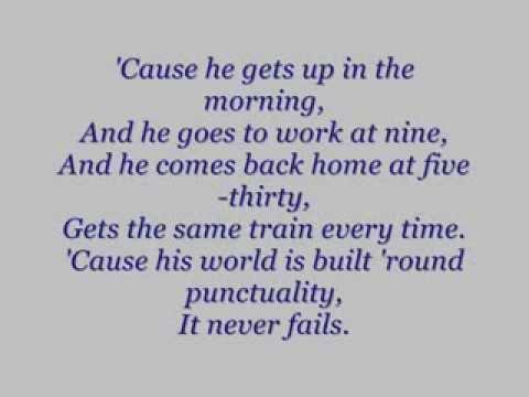 The Kinks - A Well Respected Man lyrics