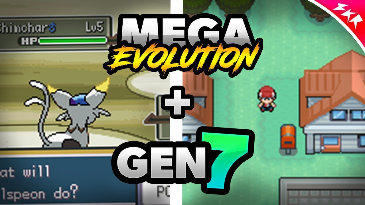 Pokemon ds rom hacks with mega evolution