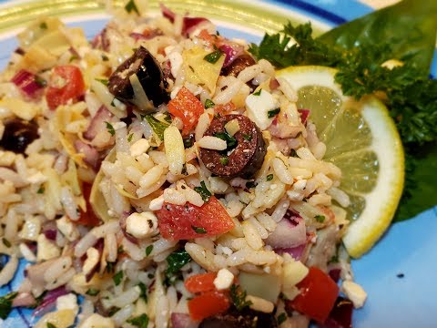 Greek Rice Salad Cuisinart 4 cup Rice Cooker