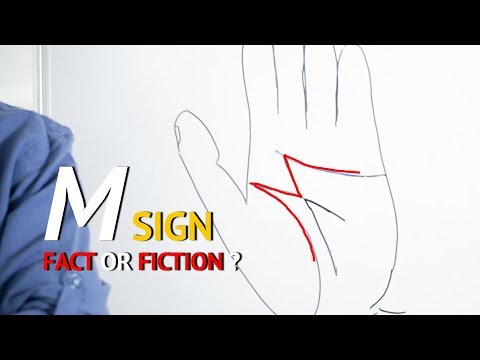 M Sign in Hand - Fact or Fiction ?