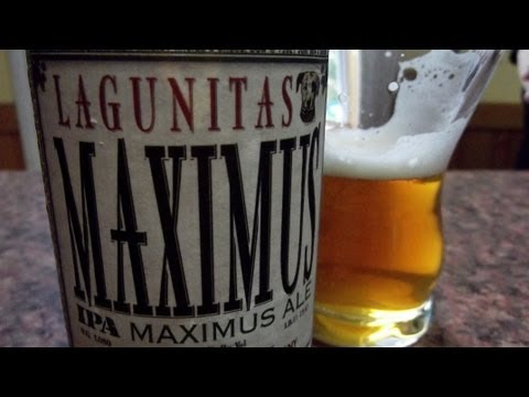 Lagunitas Maximus IPA - #387 - Maxwell Starr's Beer Review