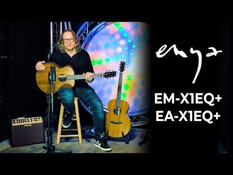 Обзор электроакустических гитар Enya EA-X1EQ+ и EM-X1EQ+ от Тимура Ведерникова