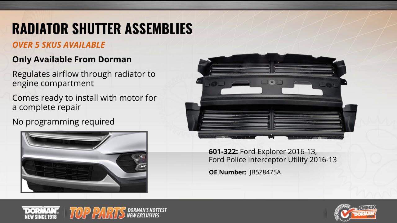 Radiator Shutter Assembly Youtube. Radiator Shutter Assembly. Ford. Shutter 2014 Ford Focus Radiator Diagram At Scoala.co