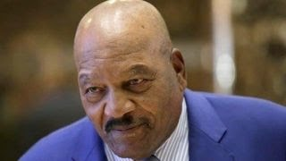 NFL legend Jim Brown on Trump's minority outreach