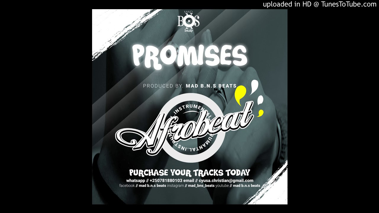 PROMISES NEW 2018 AFRO POP / R&B / EMOTIONAL INSTRUMENTAL - TEKNO MILES x DAVIDO x SIMI x WIZ KI