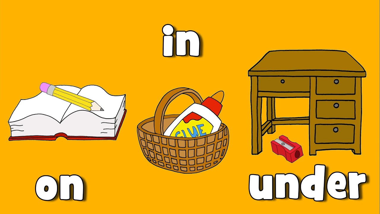 Preposition Under Clipart Where is it? #2 - YouT...