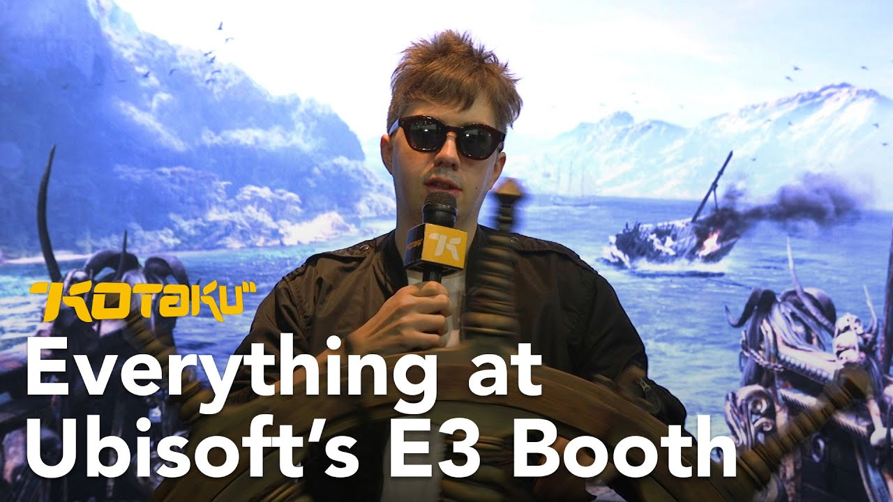 Assassin's Creed And More At Ubisoft's E3 Booth with Tim Rogers