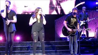 Lady Antebellum American Honey at Ruoff Music Center near Indianapolis