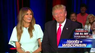 Melania Trump: I Tell Donald to Stay Away From Re-Tweets