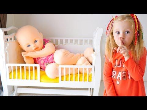 Nastya y su muñeca gigante