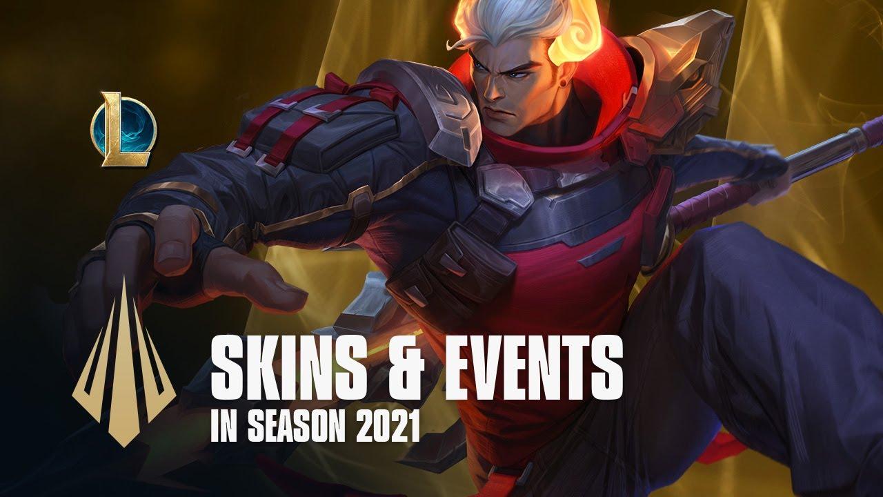 Skins & Events in Season 2021