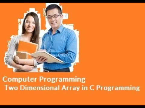 Computer Programming | Two Dimensional Array in C Programming Example