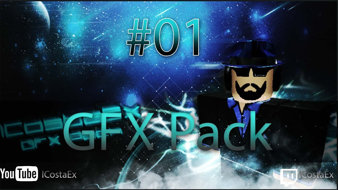 Roblox Gfx Photoshop Roblox Gfx Pack 1 Youtube
