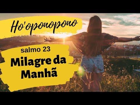 MILAGRE DA MANHÃ COM HO'OPONOPONO - ORAÇÃO - SALMO 23 I Renata Rocha