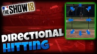 MLB The Show 18 | Guide to Directional Hitting