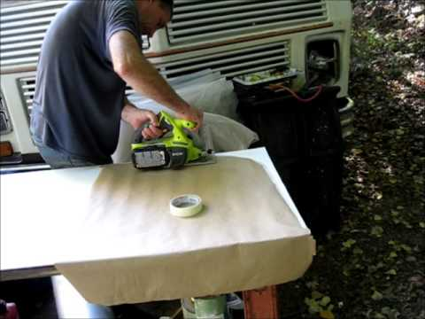 Fixing up back hatch of rv and insulating fridge wall - Exterior house insulation under siding ...
