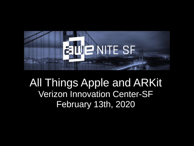 AWENiteSF - All things Apple and ARKit