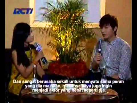 [130326]Lee Min Ho - Indonesia dahSyat News中字版