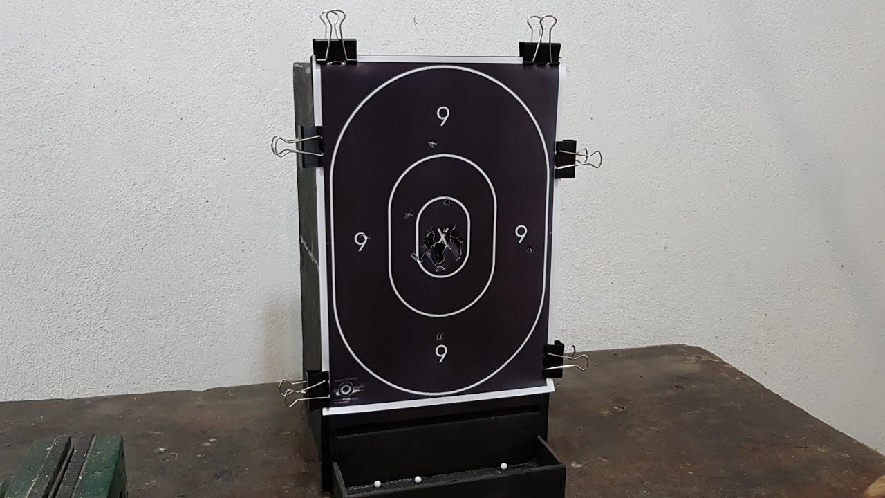How To Make Airsoft Target - Catch box