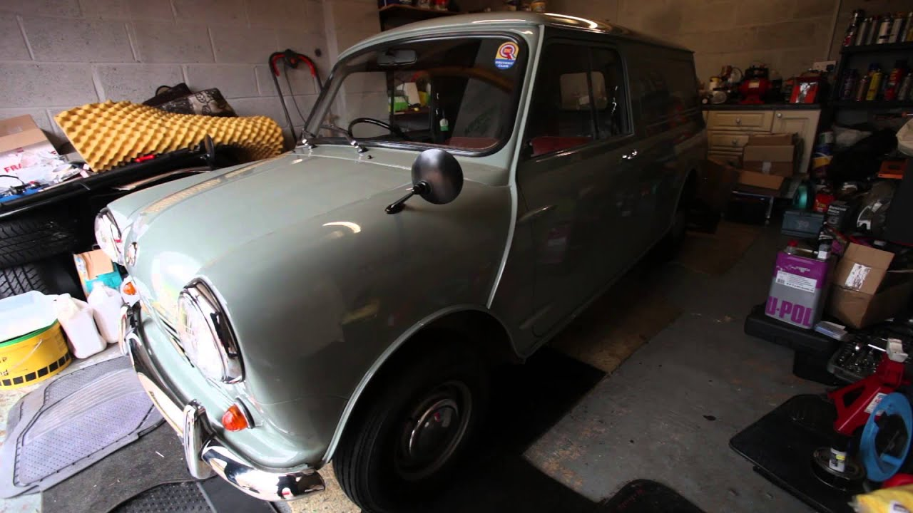 Classic Mini Van Hidden For Decades Expected To Sell For Staggering