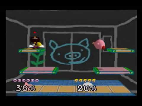 WarioWare Inc  Custom Stage For Smash 64 (Real N64 Capture)