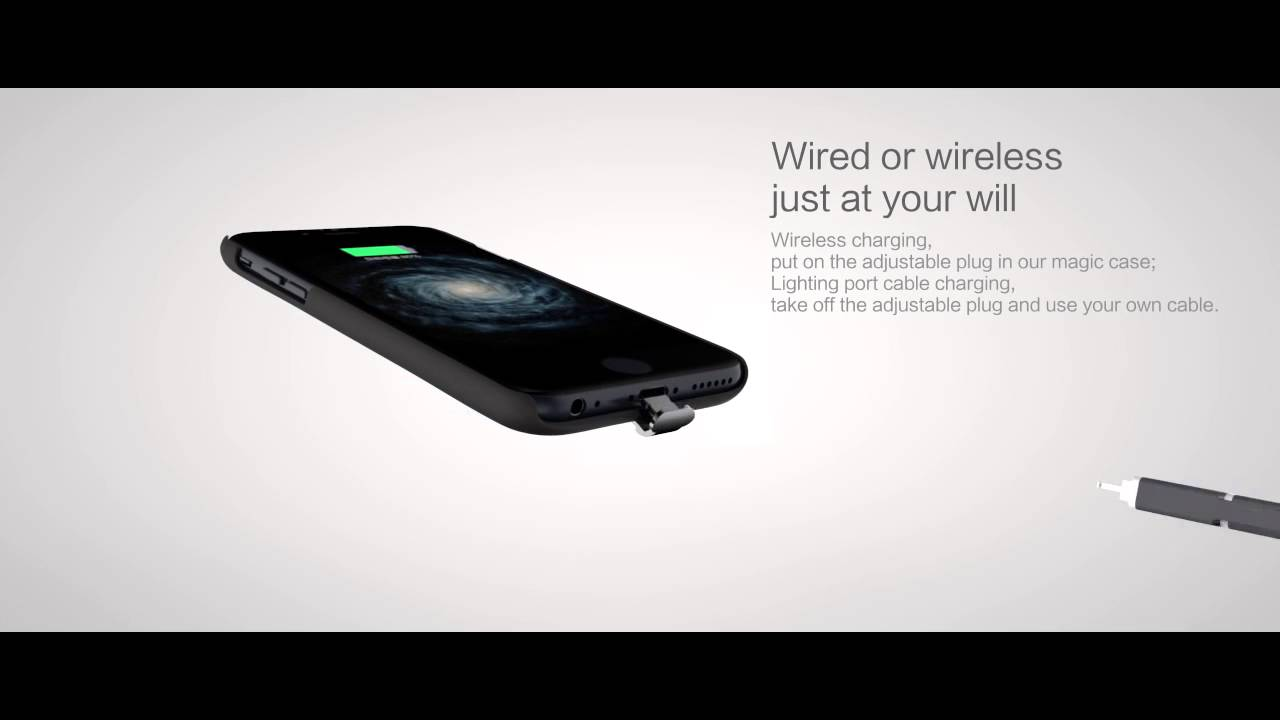 Iphone 7 Wireless Charging : nillkin iphone 7 7 plus 6 6s magic case qi wireless charging receiver back cover case youtube ~ Aude.kayakingforconservation.com Haus und Dekorationen